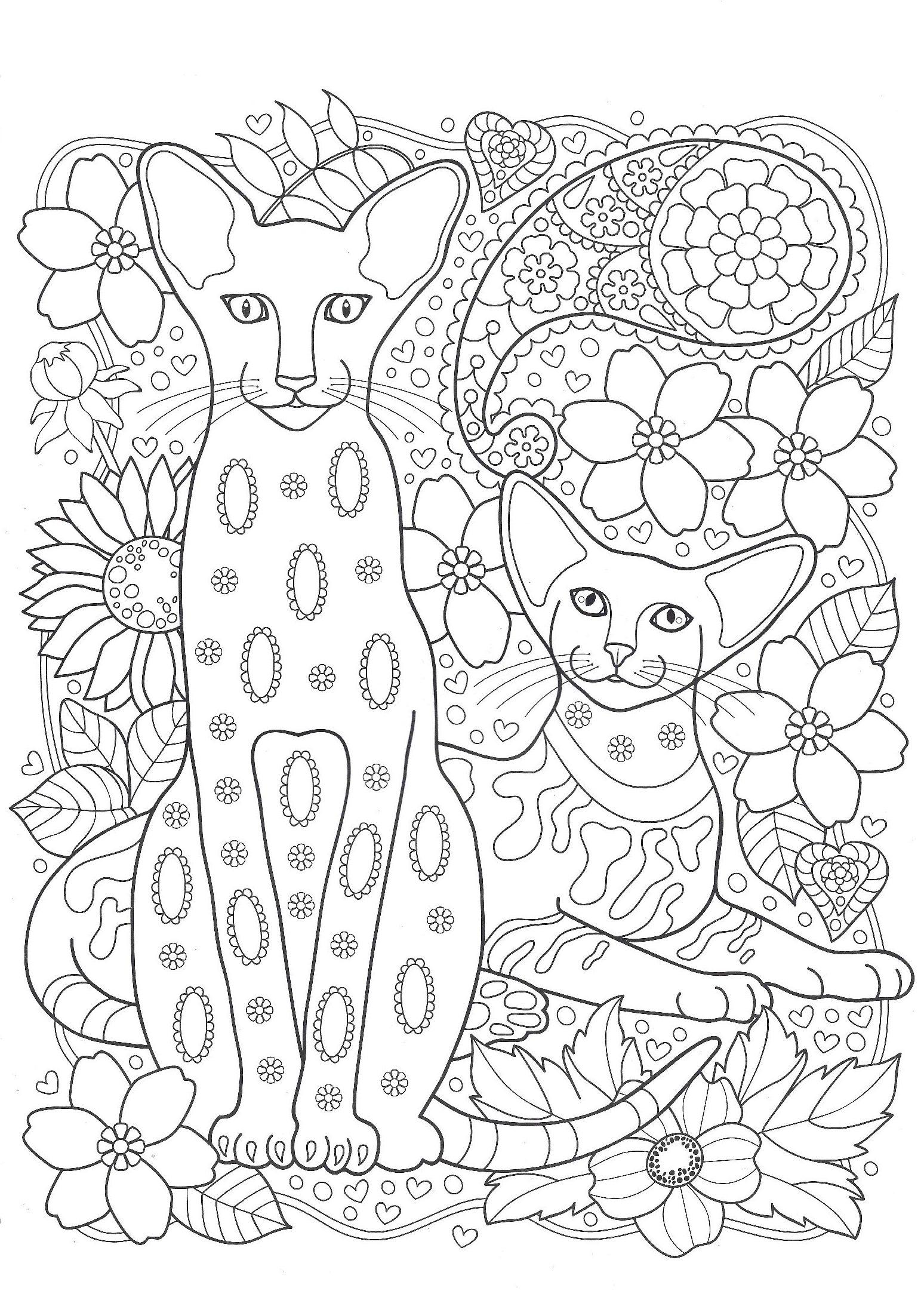 Раскраска для расслабления для детей