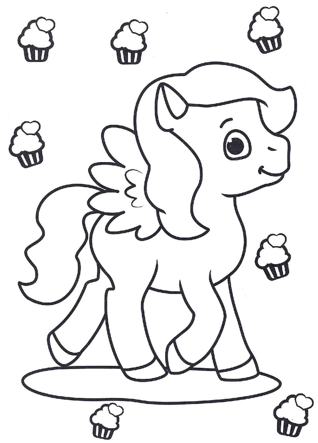 Пони и капкейки