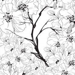 Весенние цветы сакура