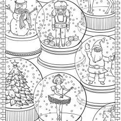 Новогодние стеклянные шары
