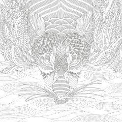 Пантера у водопоя