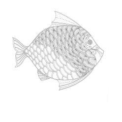Рыба с узором