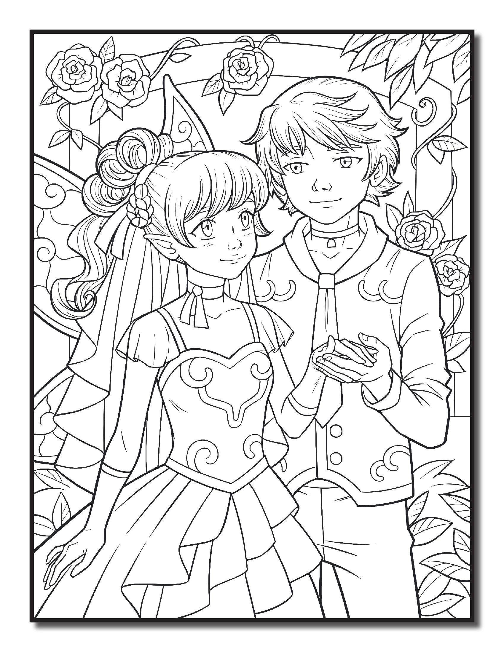 Свадьба феи парень и невеста фея