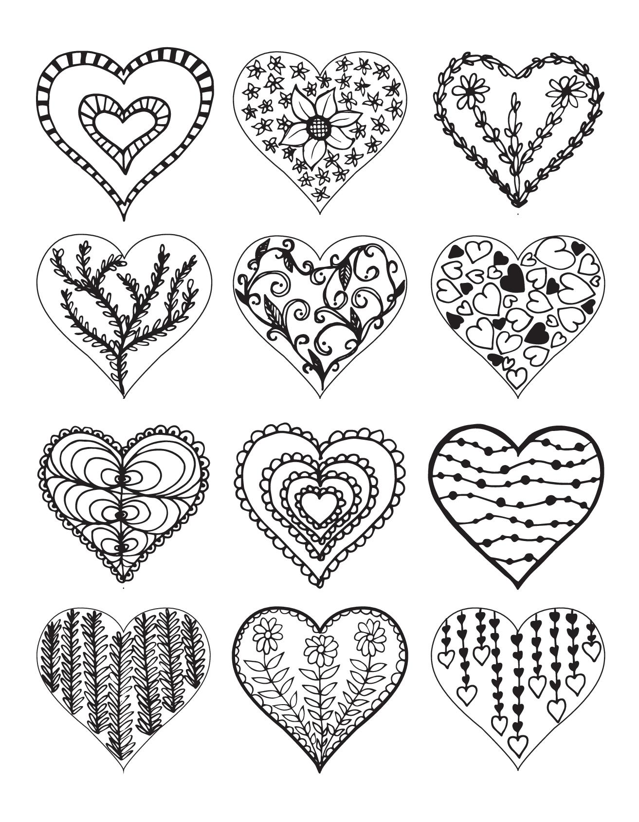 конце распечатать картинки для раскрашивания сердце регулярно штормит
