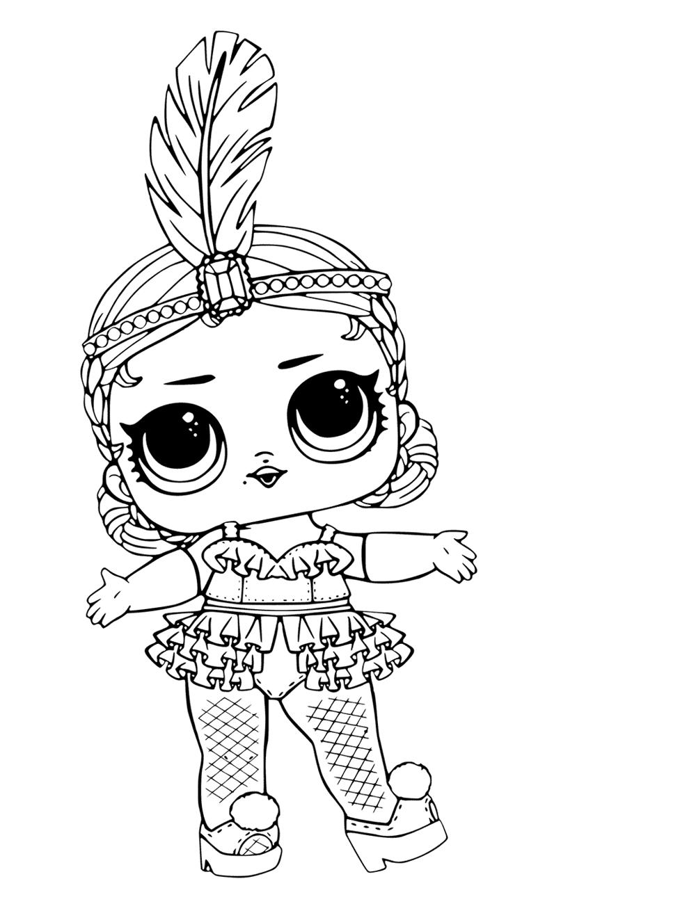 Кукла ЛОЛ шоу беби - Куклы LOL - Раскраски антистресс