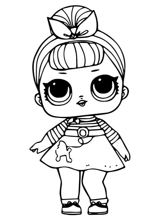 Кукла ЛОЛ Сис Свинг 1 серия - Куклы LOL - Раскраски антистресс