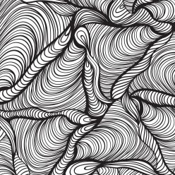 Раскраски антистресс узоры «Треугольники», чтобы распечатать и раскрасить онлайн