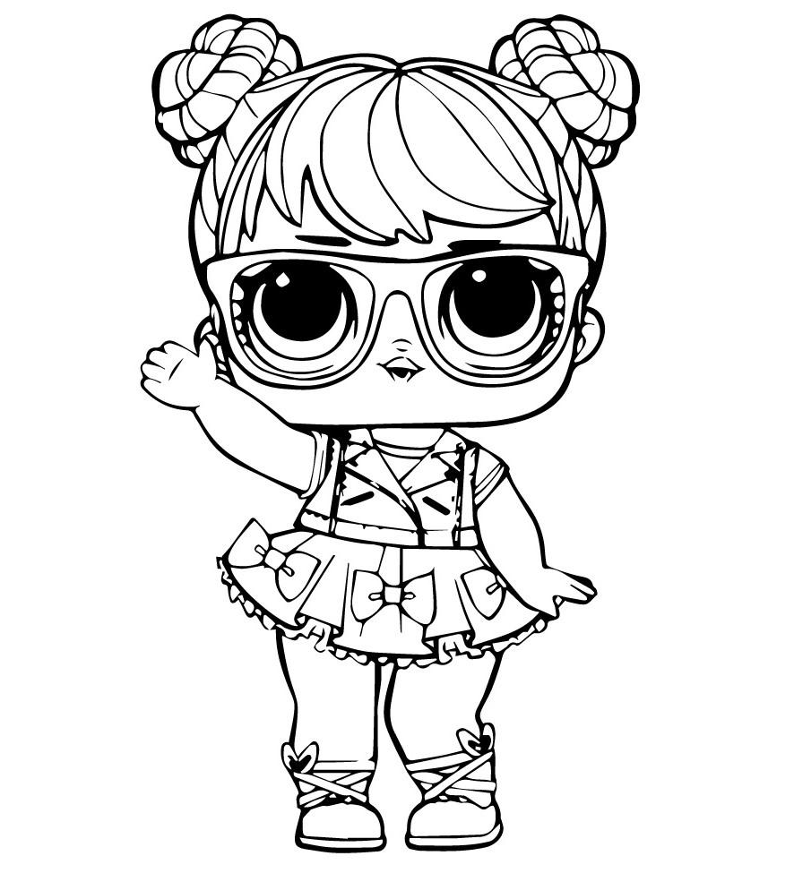 Кукла ЛОЛ бон бон - Куклы LOL - Раскраски антистресс