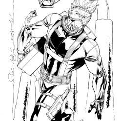Раскраски Супергерои Марвел для мальчиков «Аквамен», чтобы распечатать