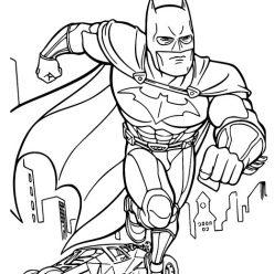 Раскраски супергерои для мальчиков «Бетмен», чтобы распечатать