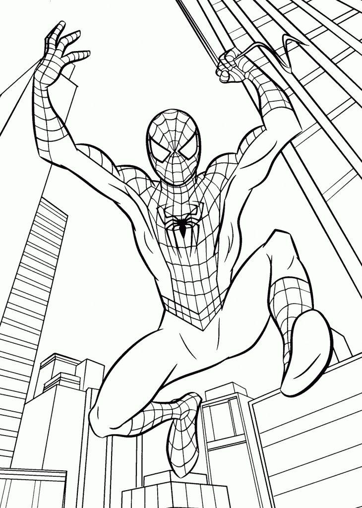 Человек паук возвращение домой - Супергерои Марвел ...