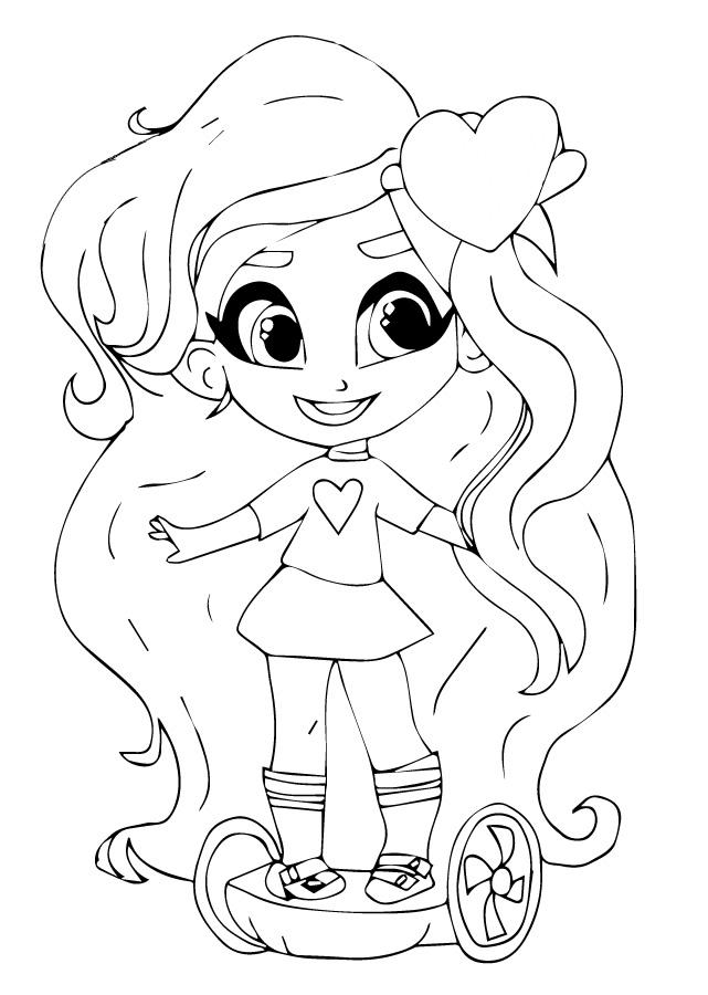 Милашка Kali (Кали) - Кукла-загадка Hairdorables ...