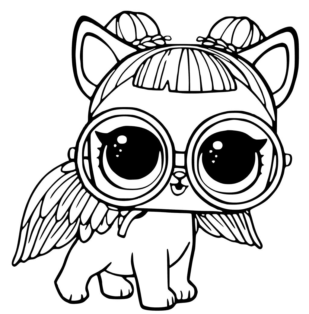 Кукла ЛОЛ питомец сахарный щенок - Куклы LOL - Раскраски ...