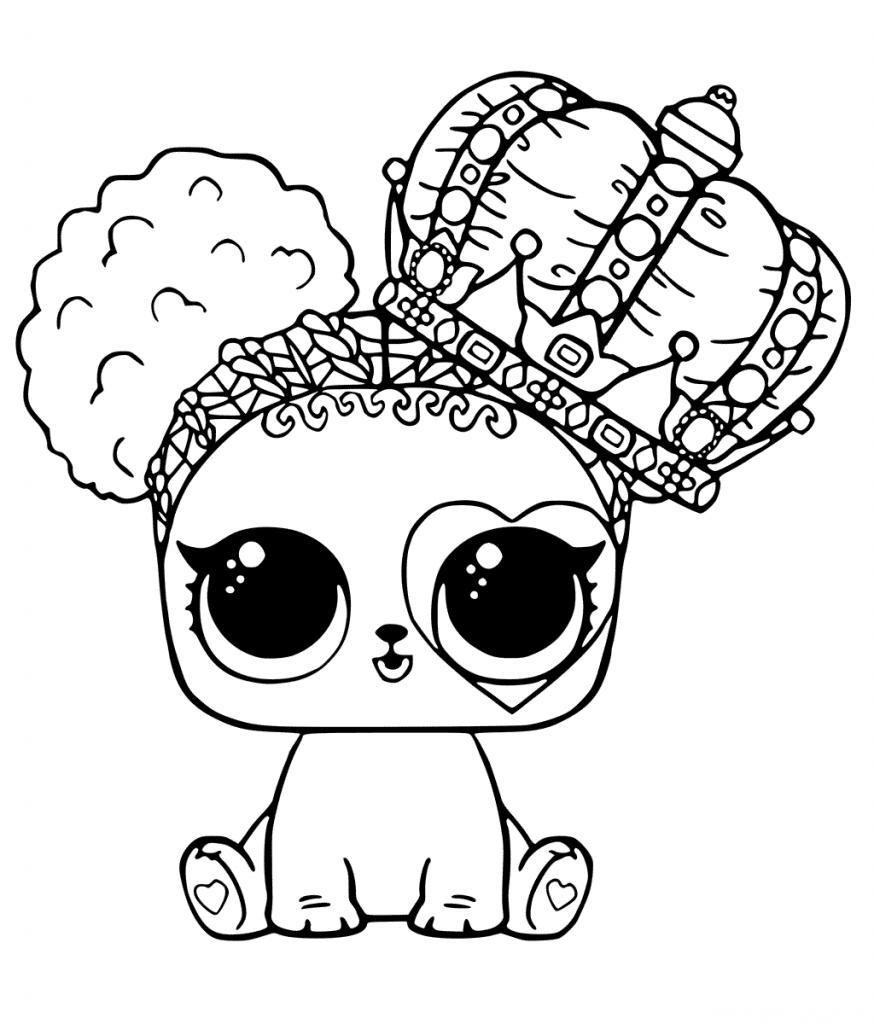 Кукла ЛОЛ питомец собачка с короной - Куклы LOL ...