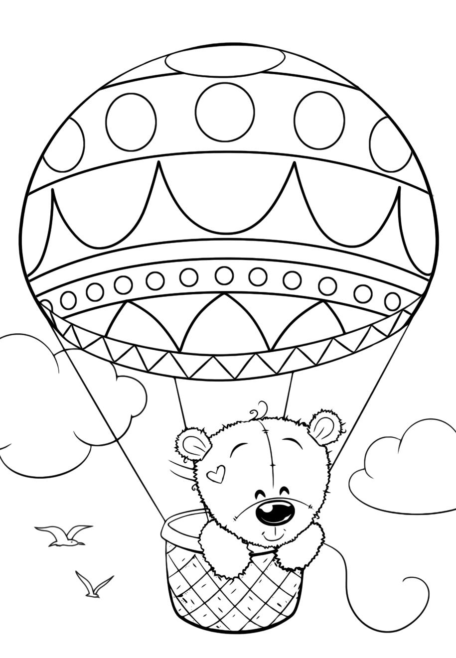 Обои на рабочий стол воздушные шары и небо разновидностей