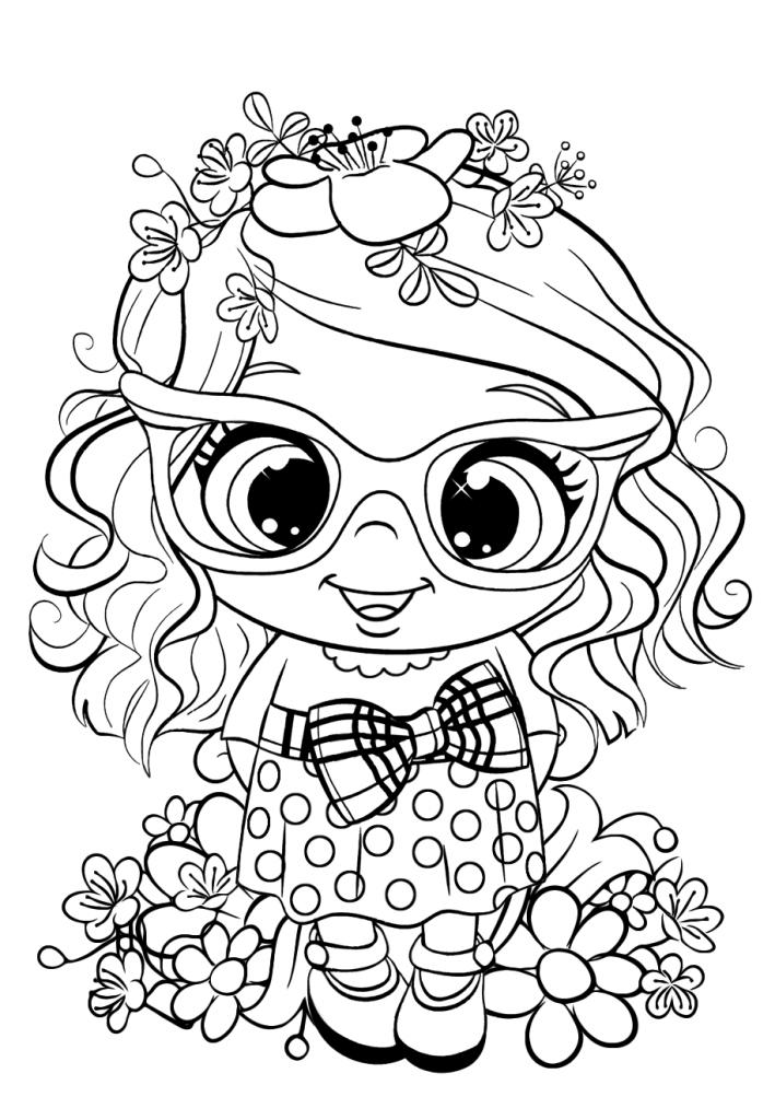 Раскраска Куколка, чтобы распечатать