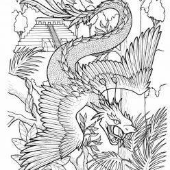 Раскраска Дракон китайский, чтобы распечатать