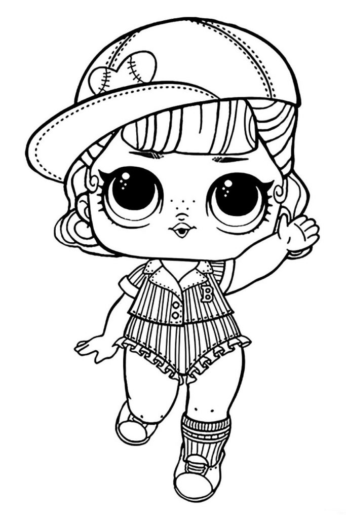 Кукла ЛОЛ Пит Стоп - Куклы LOL - Раскраски антистресс