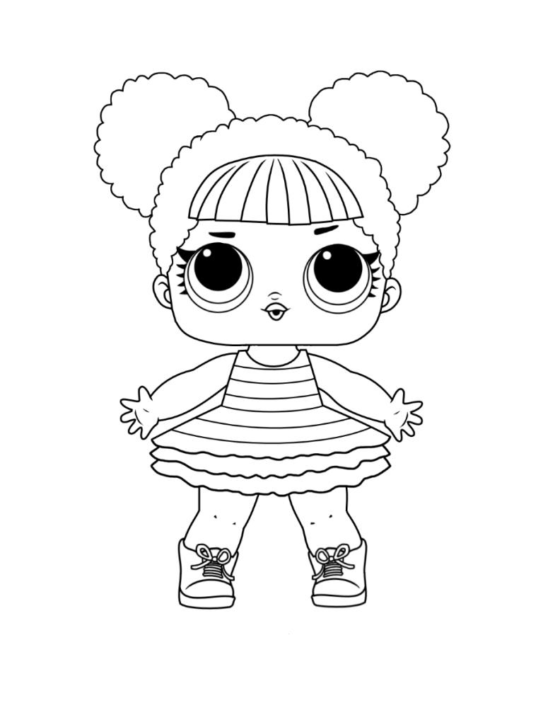 кукла лол Queen Bee пчелка куклы Lol раскраски антистресс