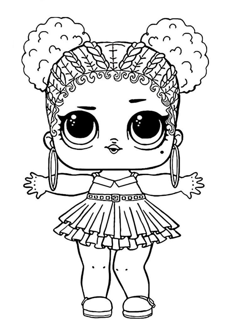 Кукла ЛОЛ фиолетовая королева - Куклы LOL - Раскраски ...