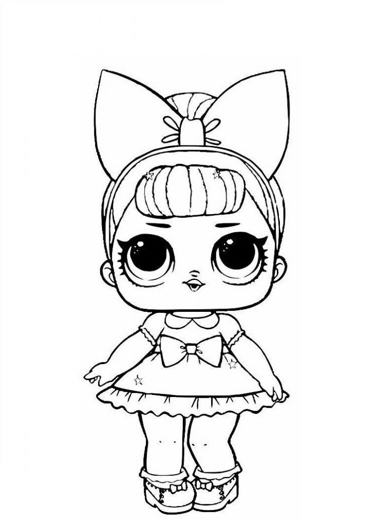 Кукла ЛОЛ настоящая леди - Куклы LOL - Раскраски антистресс