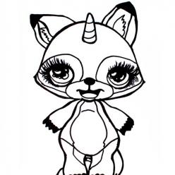 Раскраски «Poopsie единорог» - Раскраски антистресс