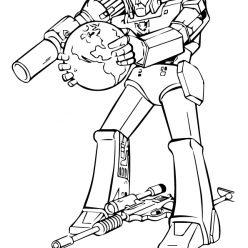 Раскраска «Трансформеры» Робот, чтобы распечатать