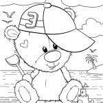 Раскраски малашки «Тедди Малыш», чтобы бесплатно распечатать