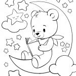 Раскраски малашки «Спокойной ночи!», чтобы бесплатно распечатать