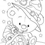 Раскраска «Хэллоуин для детей», чтобы распечатать в хорошем качестве