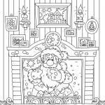 Раскраски Новый год, чтобы бесплатно распечатать А4