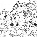 Картинка из мультфильма 44 Котенка, которую можно бесплатно распечатать и раскрасить с детьми