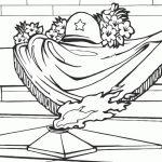 Раскраска на праздник «День Победы» Памятник Вечный огонь, чтобы распечатать в хорошем качестве А4 для детей и взрослых