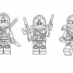 Распечатать и раскрасить картинку «Лего» Ниндзяго, бесплатно в хорошем качестве.