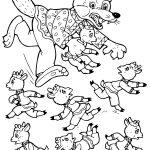 Картинка из детской сказки «Волк и семеро козлят» в хорошем качестве